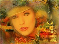 Centerblog.net l'automne+femme+papillion+gif | ... merci à mon amie Julie pour ses ravissantes créas de l'Automne