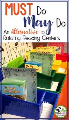 Teach Your Child to Read Must Do May Do An Alternative to Rotating Reading Centers Give Your Child a Head Start, and.Pave the Way for a Bright, Successful Future. Reading Stations, Reading Centers, Reading Workshop, Literacy Centers, Art Centers, Reading Logs, Literacy Stations, Close Reading, Free Reading