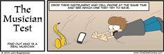 ALWAYS THE INSTRUMENT!! #tone deaf comics
