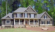 Elevation of Southern   House Plan 80223