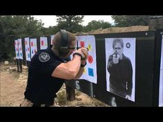 Jeff Johnsgaard demonstrates the CAR System Close Quarter Ready position. Along with the Close Quarter position, the Close Quarter Ready is not a firing posi. Shooting Guns, Shooting Range, Handgun, Firearms, Ares, Training Day, Guns And Ammo, Pistols, Self Defense