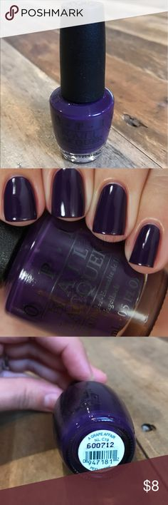 "BRAND NEW OPI Nail Polish ""A Grape Affair"" OPI Nail Polish ""A Grape Affair"" BRAND NEW never used Makeup"