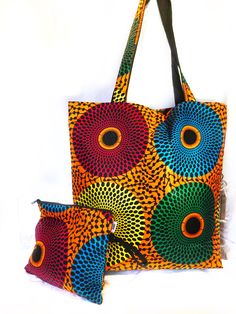 This African Print Tote Bag is a nice and good accessory for personal uses, business uses as well as for gifting purpose African Fashion Designers, African Inspired Fashion, African Men Fashion, Africa Fashion, African Women, African Outfits, African Print Skirt, African Fabric, Ankara Bags