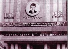 El ultimo 23 de agosto, antes del golpe de estado de diciembre de 1989: 45 Aniversario de la Revolución Social, Nacional,Antifascista y Antimperialista de Rumania