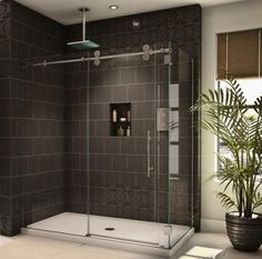 sliding glass shower doors - Google Search