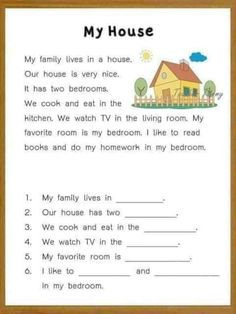 Reading comprehension for kids - Interactive worksheet English Activities For Kids, English Grammar For Kids, English Worksheets For Kindergarten, English Phonics, Learning English For Kids, English Lessons For Kids, Learn English Words, Kindergarten Reading Activities, Grammar Worksheets