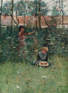 Spring by William Kennedy (1859-1918)