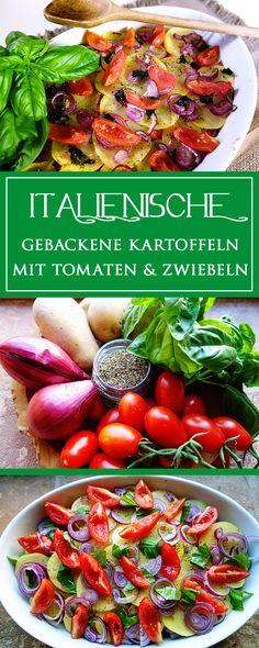 Kartoffeln mit Tomaten & Zwiebeln