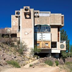Arcosanti experimental town, Phoenix via Flickr