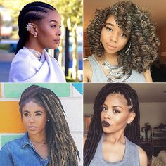 Need Summer braid inspiration? These braids with weave are perfect for Black women looking to protect their natural hair this season. These protective styles will keep hair safe from sun and chlorine. The braided hairstyles include crochet braids, box braids, senegalese twists, marley twists, dreadlocks, and cornrows.