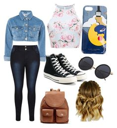 """""""Untitled #44"""" by sherlock22 on Polyvore featuring Topshop, Converse, Marc Jacobs and Coach"""