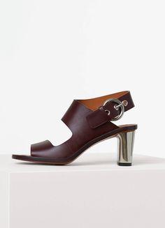 Spring / Summer Collection 2016 - Bam Bam Assymetrical Sandal in Calfskin