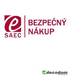 Certifikát SAEC - Bezpečný nákup - Eshop www.decodom.sk je zaradený medzi bezpečné a  kvalitatívne nadpriemerné eshopy na Slovensku.