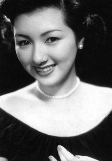 "Hideko Takamine actress from ""Somewhere Beneath The Wide Sky"""