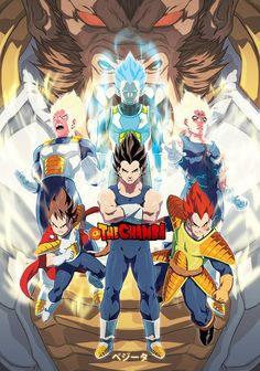 The Evolution of Vegeta by theCHAMBA on DeviantArt