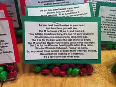 Pinned this a long time ago and just came access it again earlier this week, just in time to make to give to the Sunday School kids today at their birthday party for Jesus. The Candy Cane Story is great, but it's fun to do something different!