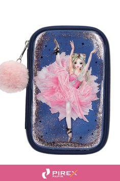eaefbf0b5b20 Iskolatáskák, tornazsákok, tolltartók - TopModel Töltött tolltartó (14x22x5  cm) sötétkék, balerina, Fantasy Model #tolltartó #fantasy #topmodel  #rózsaszín ...