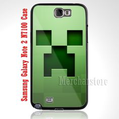 Minecraft Creeper Samsung Galaxy Note 2 Case