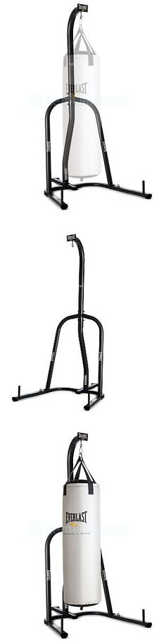 Bag Stands Platforms and Accs 179785: Everlast 100 Lb Heavy Boxing Punching Bag Stand Holder Hanger Kick Mma Trainer -> BUY IT NOW ONLY: $111.8 on eBay!