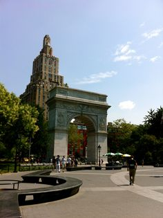 Washington Square, Heart of NYU