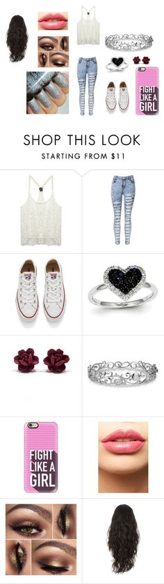 """""""sdfgh"""" by zahlia-tibbs on Polyvore featuring beauty, Wet Seal, Converse, Kevin Jewelers, Effy Jewelry, Casetify and LASplash"""