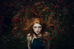 Model: Alina Menden - Photography by Alessio Albi