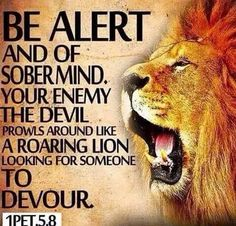 I Peter 5:8