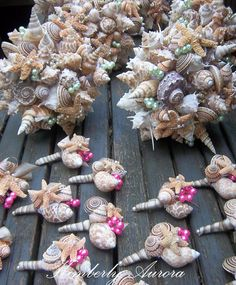 Beach Wedding Bouquets for Bride and Wedding by romanticflowers