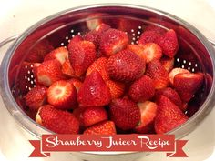 Getting Healthy 2013: Strawberry Juicer Recipe And Results From The #MillionSteps Challenge