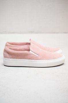 Light Pink Slip-ons #ss14 fringeandfrange.com