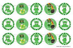 15 Lucky Irish Bears 2 Digital Download for 1 Bottle by MaddieZee, $1.25