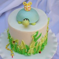 cute turtle for top of cake