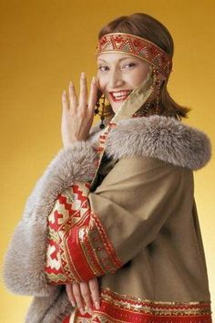 Елена Лаптандер: Nenets - this folk lives on peninsula YAmal - a number 41300 people