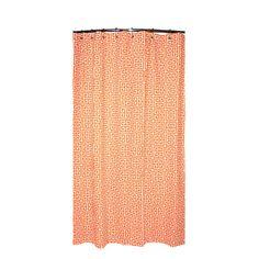 Attractive Greek Key Shower Curtain In Mandarin Orange | Overstock.com Awesome Ideas