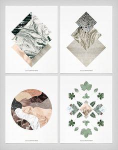composición, geometria y textura - by:Kristina Krogh