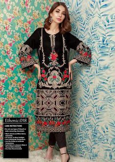 Summer Collection of Pakistani Designer's Pakistani Lawn Suits, Pakistani Designer Suits, Pakistani Salwar Kameez Designs, Baby Frocks Designs, Winter Outfits, Winter Clothes, Lawn Fabric, Frock Design, Designer Collection