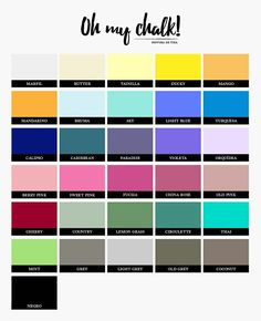 Oh My Chalk, I Can Do It, Chalk Paint, Diy, Painting, Ideas, Home Decor, Pintura, Dibujo