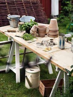 Gör ett bord av dörren! | Fixa hemma | Aftonbladet