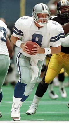 Nfl Football Helmets, Football And Basketball, Alabama Football, American Football, Football Players, Football Images, Sports Images, Dallas Cowboys Wallpaper, Troy Aikman