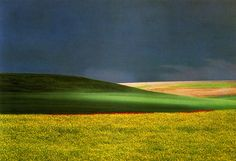 Franco Fontana...simple use of elements in his images is what makes them so effective