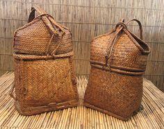 Pasiking backpack; Kalinga ethnic group, Philippines - nice closing detail