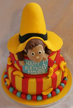Curious George birthday cake!!