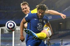 Thomas Tuchel's side labour to point as they edge into the top four, with impressive Seagulls nearly snatching victory after Danny Welbeck struck post late on. Chelsea Match, Chelsea Fc, Premier League, Brighton, Danny Welbeck, Champions League Football, Stamford Bridge, Soccer Ball, Victorious