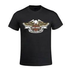 Tee-shirt Homme - harley davidson eagle logo better 1 Manches courtes - Imprimé Noir Noir Noir - Achat / Vente t-shirt - Cdiscount