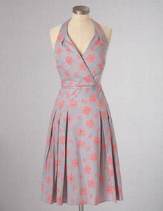 Fifties Halterneck Dress