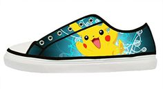 ADORABLE PIKACHU CANVAS SHOES - Custom White Zipper Canvas Shoes for Women.(Note: the color of Shoes's tongue is White, non printing area.) Size:EUR35 = US5 =227.5mm = 8.96inch EUR36 = US6 = 236mm = 9.29inch EUR37 = US7 = 244.5mm = 9.63inch EUR38 = US8 = 253mm = 9.96inch EUR39 = US9 = 261mm = 10.28inch EUR40 = US10 = …