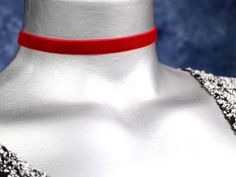 Image result for red choker necklace