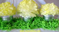 So cute & simple.  Perfect for Easter brunch table