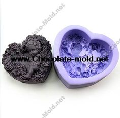 Free shipping Rose Angel baby Chocolate mold Cake mold cooky mold soap mpld R1025-in Cake Molds from Home  Garden on Aliexpress.com $7.00