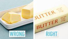 butter wrapper